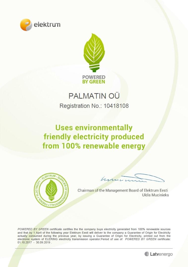 Powered by Green und grünes Denken